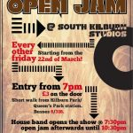 Open Jam Session Flyer