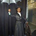Annette in Mary Poppins costume
