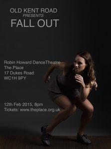Old Kent Road Presents FALL OUT at The Place on 12 Feb 2015