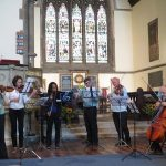 Highbury Strings performing