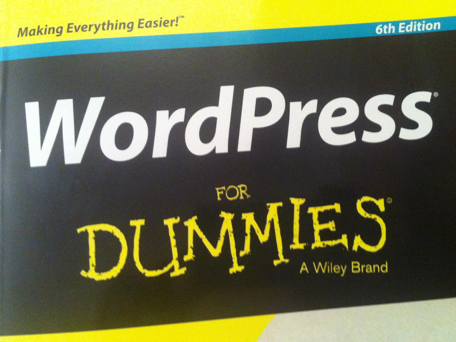 WordPress for Dummies 6th Edition