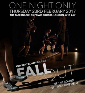 Fall Out poster, Feb 2017