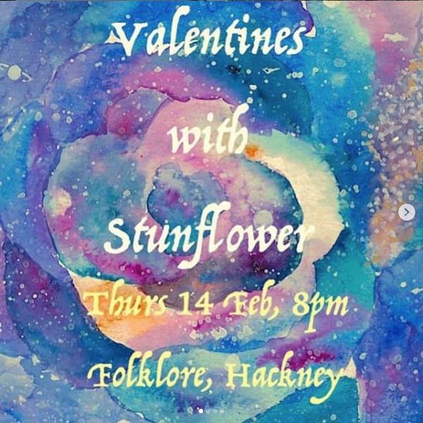Valentines with Stunflower 2019